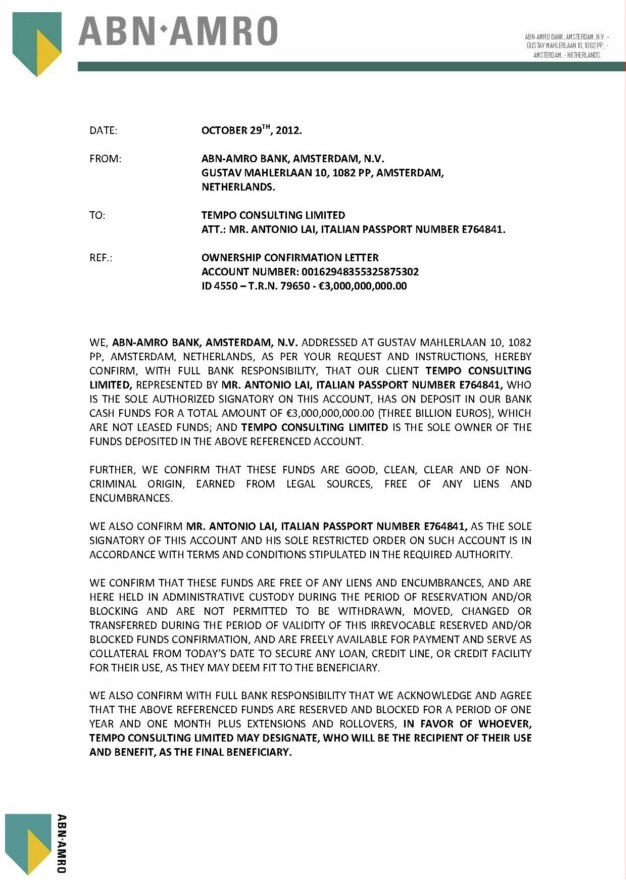 102912 Ownership Confirmation Letter ID 4550 3B Tempo Consulting Ltd.--- 01