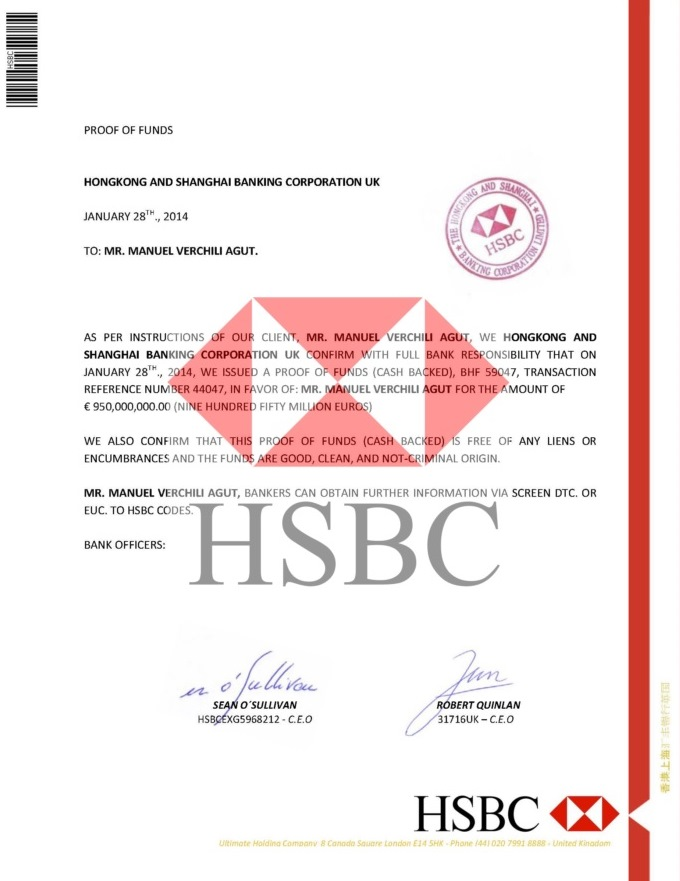 PROOF OF FUNDS HSBC BHF59047----02
