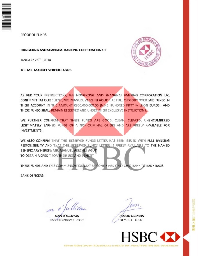 PROOF OF FUNDS HSBC BHF59047----03