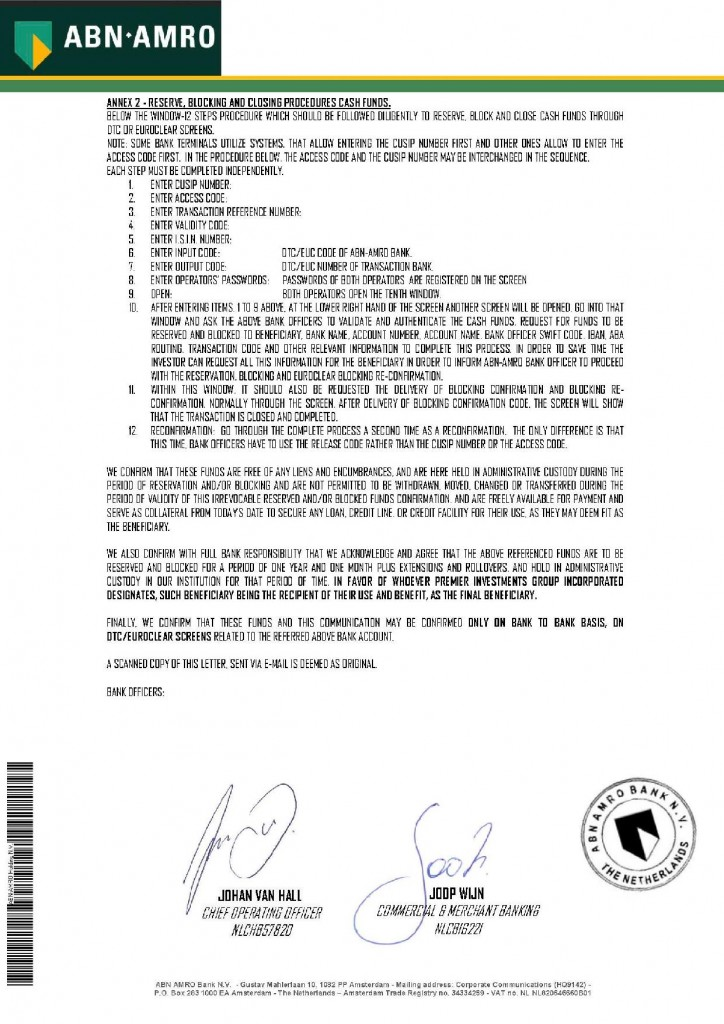 011614 Operative Procedures Letter ID 4594 _10B Premier Investment Group Inc-page-002