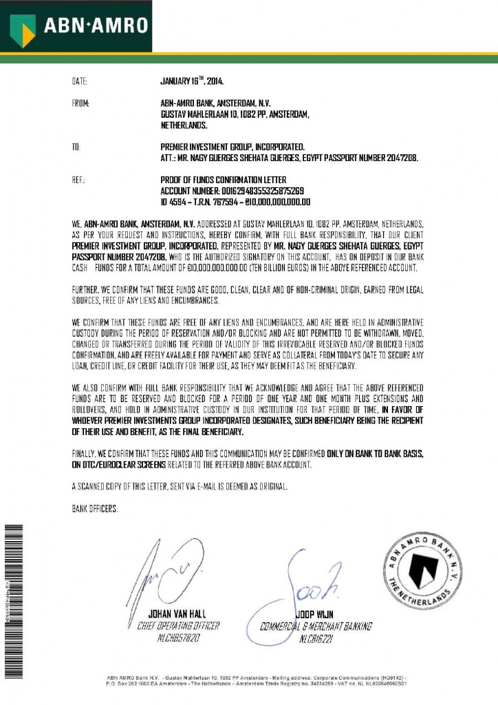 011614 POF Confirmation Letter ID 4594 _10B Premier Investment Group Inc-page-001